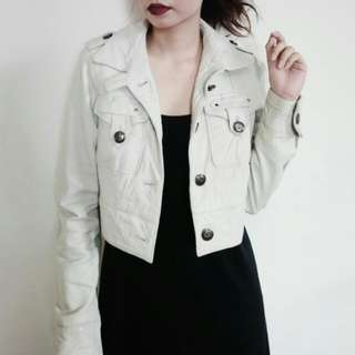 Authentic Topshop Genuine Leather Jacket