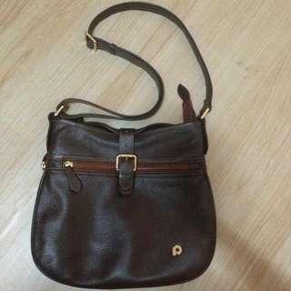 Papillon Leather Hand Bag