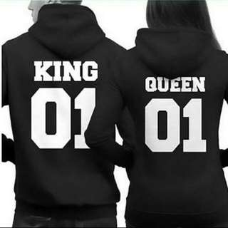 King And Queen Hoodies Price For Both