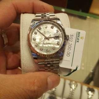 Rolex 116234NG 貝殼面