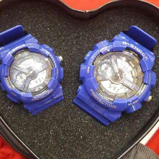 Couple's Watch On Hands 1 Pair Only Sale