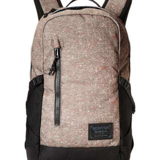 New! Burton Backpack Beige Tan Black New