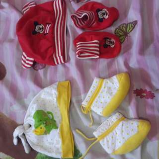 Topi Sepatu Bayi