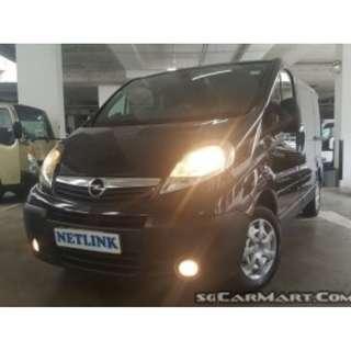 Opel Vivaro 2.0M (New 5-yr COE)