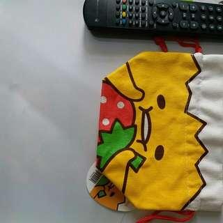 蛋黃哥 索繩袋  包郵