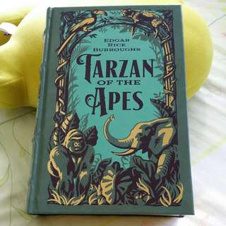 Tarzan of the Apes : The First Three Novels (leatherbound)