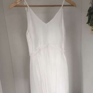 White Long Ball Dress