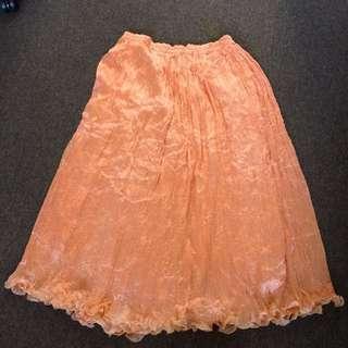 Orange Skirt-free