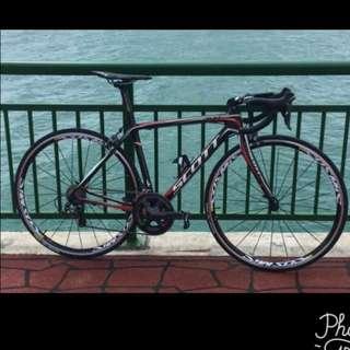 Scott Cr1 full carbon road bike