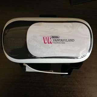 Remax USA RT-V01 VR Fantasy land Glasses Head Mount Plastic VR Virtual Reality 3D Glasses