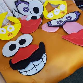 x2 Mr & Mrs Potato Head Costumes (Adult) Disney Toy Story BSDS-69900-Standard