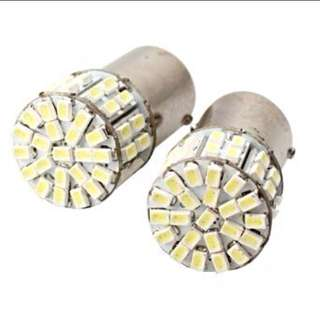 2 Pcs 1156 Amber 50led Light