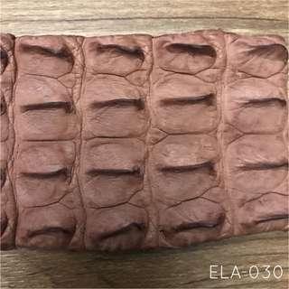 ELA-030 Alligator Hornback Exotic Leather For Watch Straps, Key Fob Or Cardholders Jamjarleather