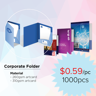 Corporate Folder/ Paper Folder/ Company Folder Printing