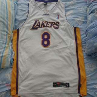 Nike authentic Kobe Bryant Lakers Jersey 落埸版 All Sewn