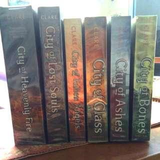 Full Set Of The Mortal Instruments By Cassandra Clare #FREEPOSTAGE