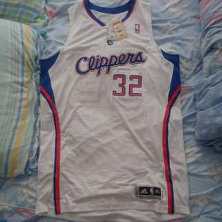 Adidas Authentic Rev30 Brake Griffin Clippers Jersey 落埸版