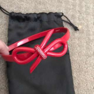 Mimco Red Head Band
