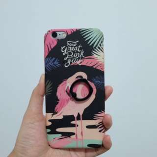 Casing Iphone 6 Plus Flamingo Preloved