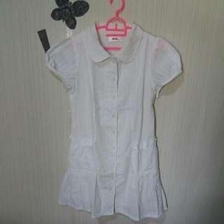 Dress H2O Putih Bersih