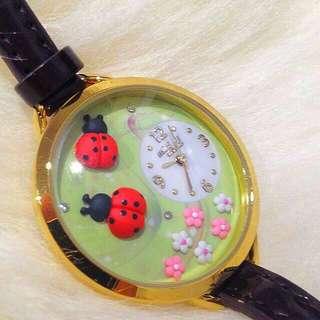 New 🍀🚚Hand Made Watch Ladybird FREE SHIPPING