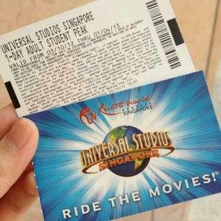 USS Universal Studio Ticket