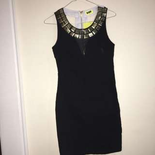 Hot Studded Dress