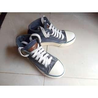 Sneaker Boot Biru uk.36