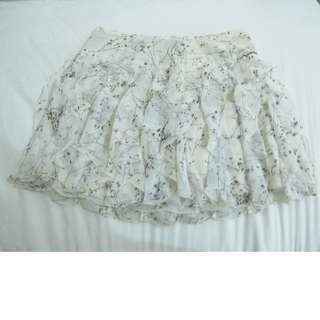 Executive Floral Mini Skirt
