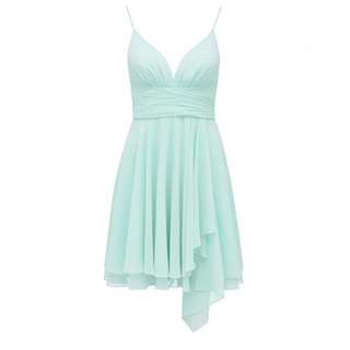 Forever New size 10 floaty mint colour