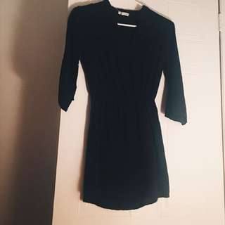 Black Midi Dress - Ardene