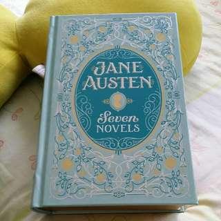 Jane Austen: Seven Novels - leatherbound