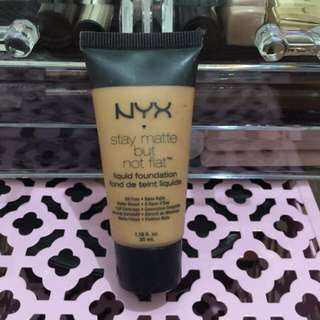 NYX stay Matte But Not Flat