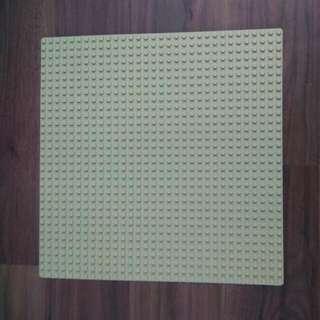 Lego卡其色薄底板25.5❌25.5(c m)