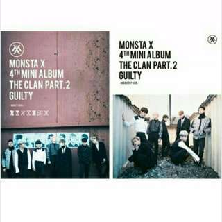 現貨!MONSTA X 第四張迷你專輯【THE CLAN PART.2 GUILTY 】