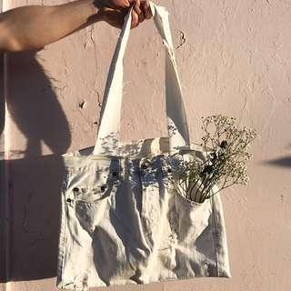 Reworked Ksubi Denim - Market bag