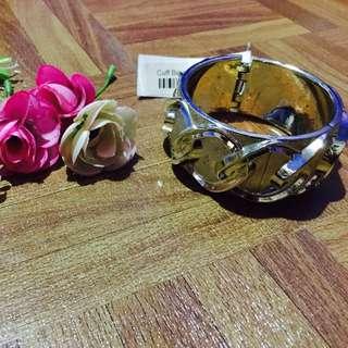 Golden Cuff Bracelet