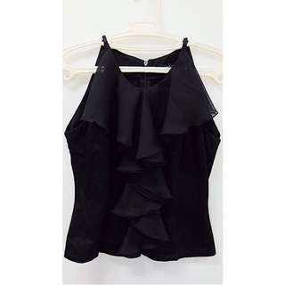 Folded and Hung Premium Black Top
