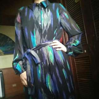 Chiffon Polo Dress