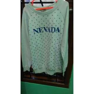 Preloved Soft Blue Sweater Nevada