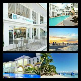 Luxury Room Stay for 4 with Breakfast and Discounts  Astoria Boracay ₱13,850 (from ₱17,190)
