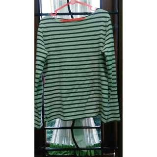 Preloved Imported Stripes Shirt