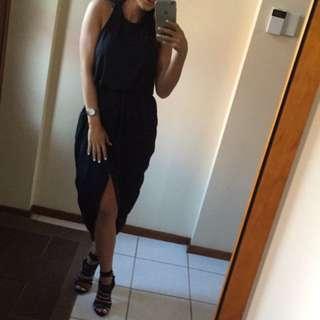 Black Sheike Dress