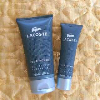 Lacoste Pour Homme Shower Gel Duo