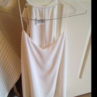 New Never Worn Size M Express White Chiffon Camisole top
