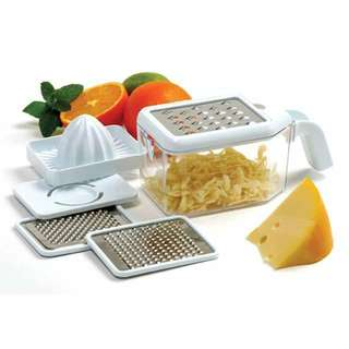 NORPRO MULTI-GRATER WITH JUICER AND EGG SEPARATOR