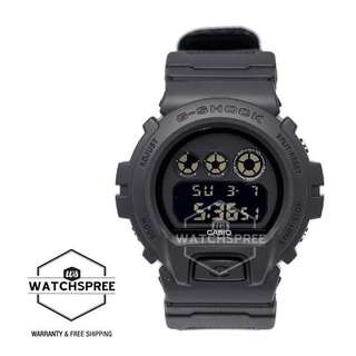 FREE DELIVERY *CASIO G-SHOCK GENUINE* [DW6900BBN-1D] 100% Authentic with 1 Year Warranty! DW6900BBN-1 DW-6900BBN-1 DW-6900BBN DW6900BBN