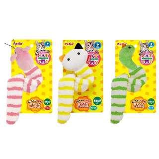 日本Petio 貓貓 玩到癲晒 木天蓼 玩具三款