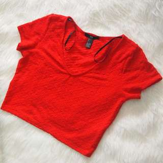 XXI Crop Top Red