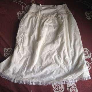 Connexion Broken White Skirt